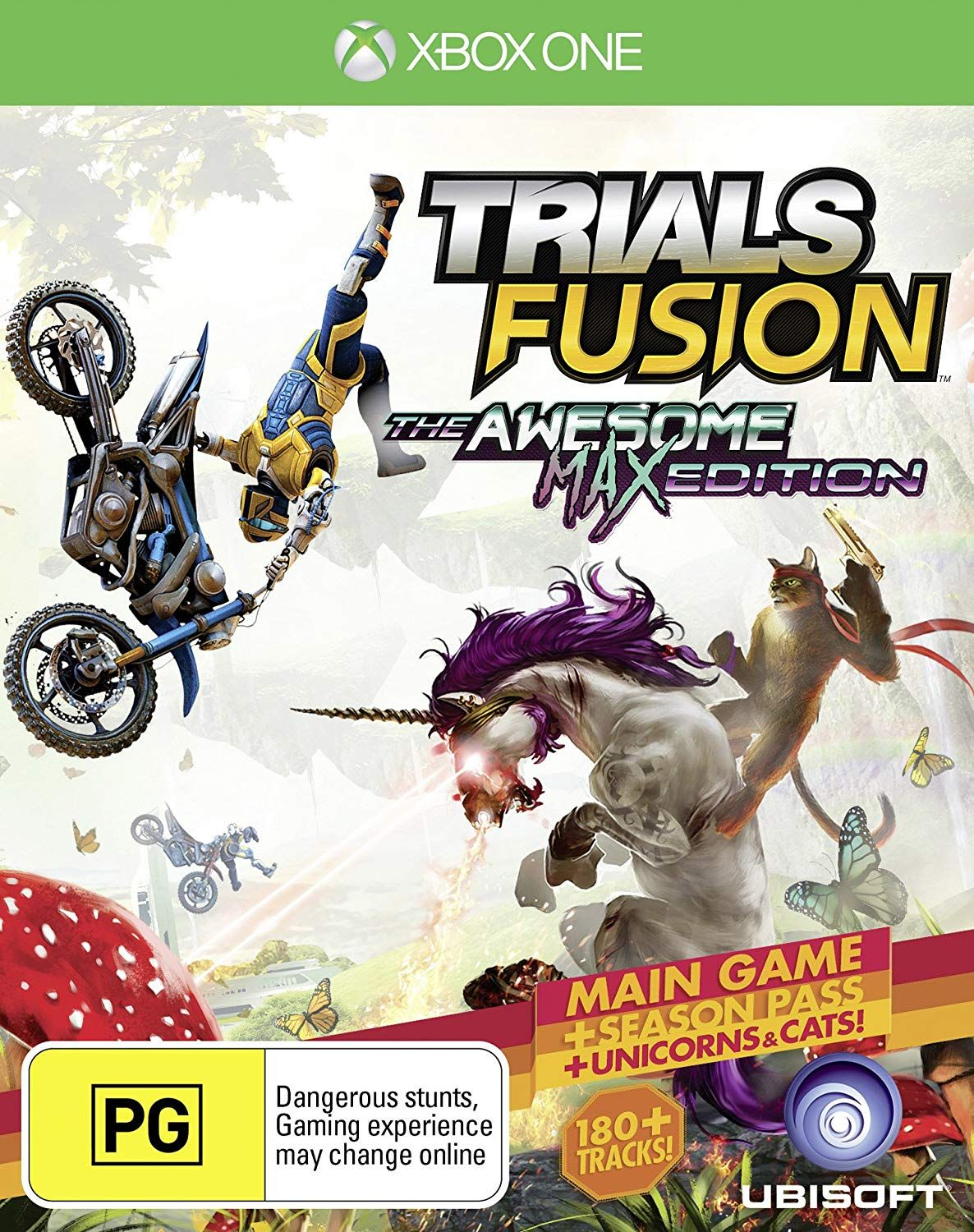 TRIALS FUSION THE AWESOME MAX EDITION ANZ Xbox one games