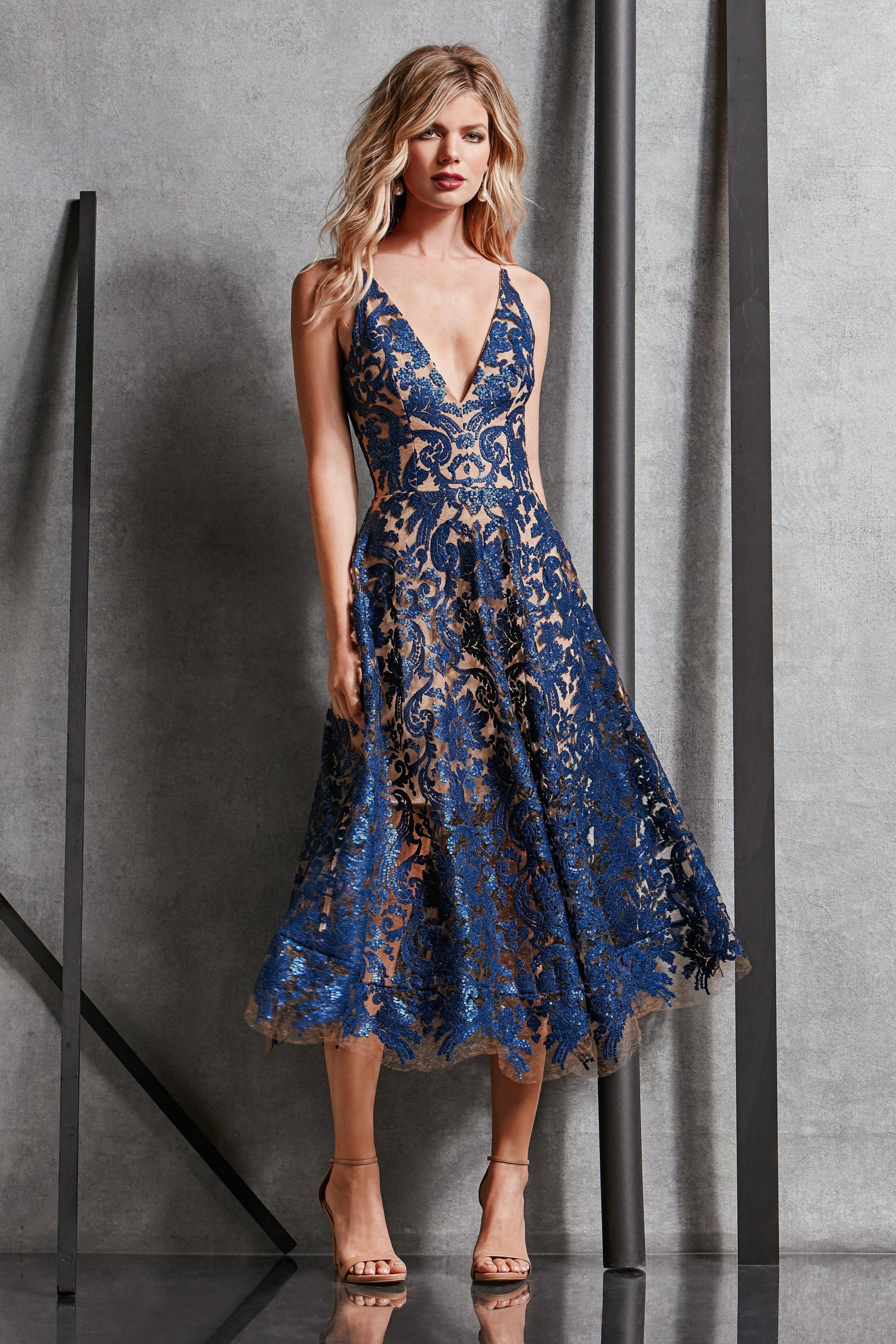 62fde94b677e7 Blair Sequin Lace Fit and Flare Midi Dress - FINAL in 2019 | Boho ...