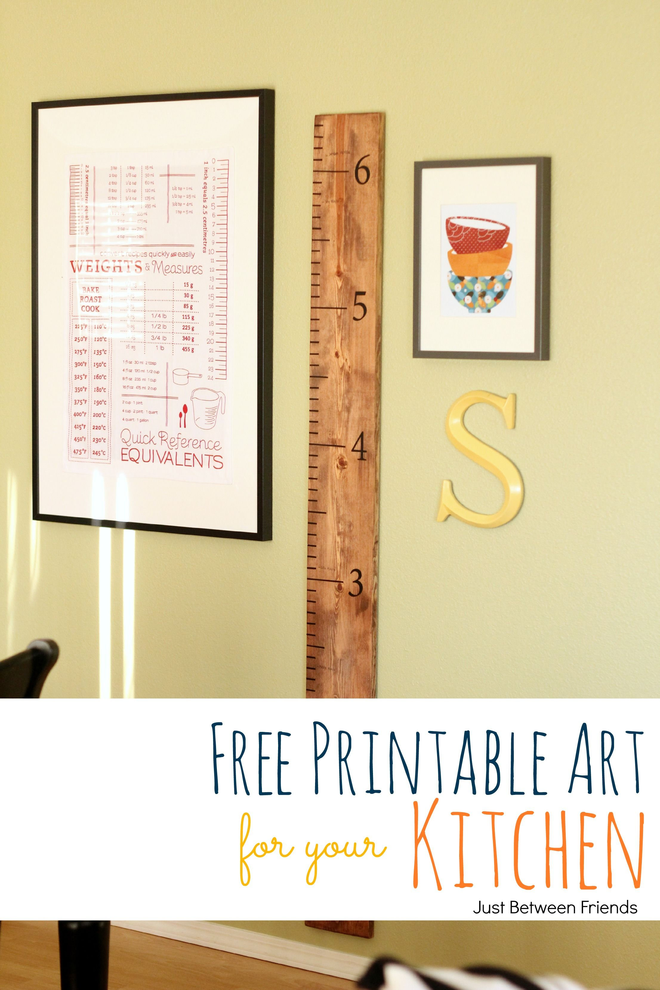 Kitchen Wall Art Printable | Printable wall art, Free printable and ...