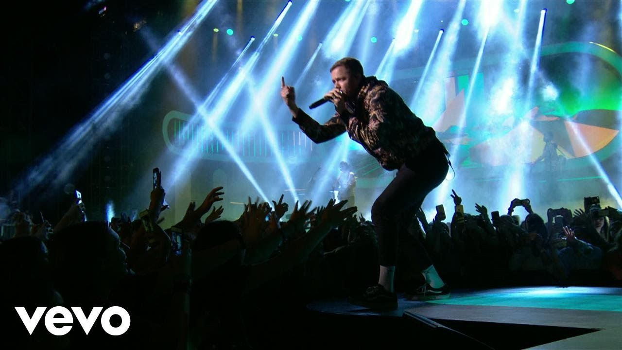 Imagine Dragons Believer Thunder Live From Iheartradio Mmvas 2017 Imagine Dragons Believer Imagine Dragons Dj Songs List