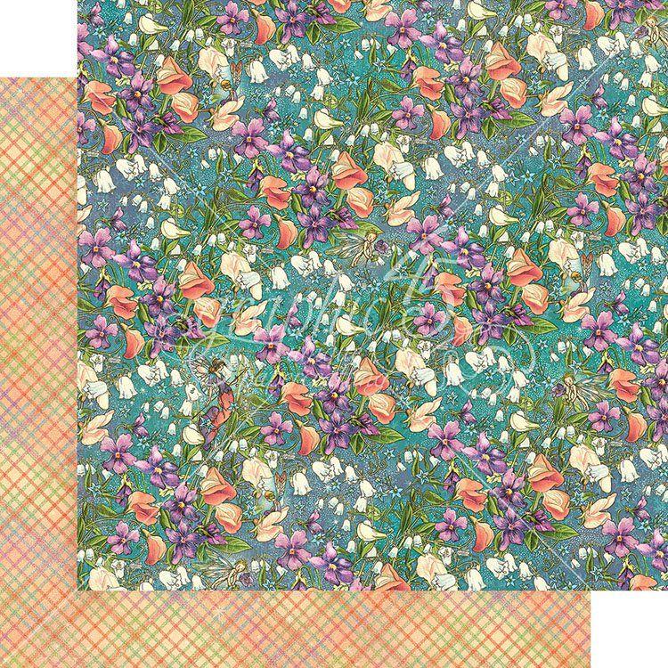 Graphic 45 Fairie Dust Moonlit Blooms Paper