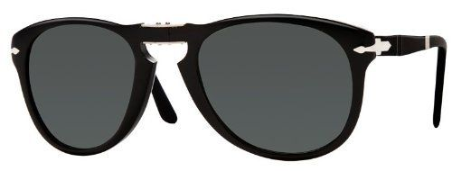e356e59d9f757 Persol PO0714 95 58 Black Sunglasses with Green Polarized Lenses 52mm 714 95  58 52 Persol.  189.00. Save 48% Off!