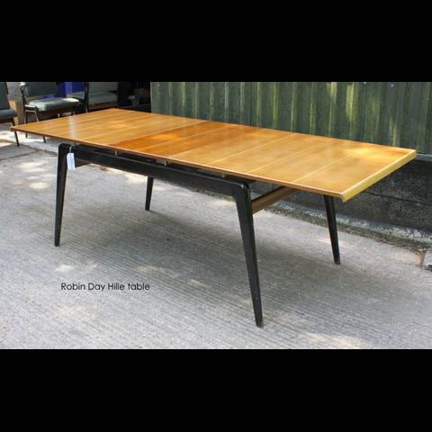 Robin Day Dining Expandable Table, circa 1950 Les Tables