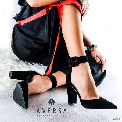 Sandalo con tacco Steve Madden Posted nero  3a2883bc116
