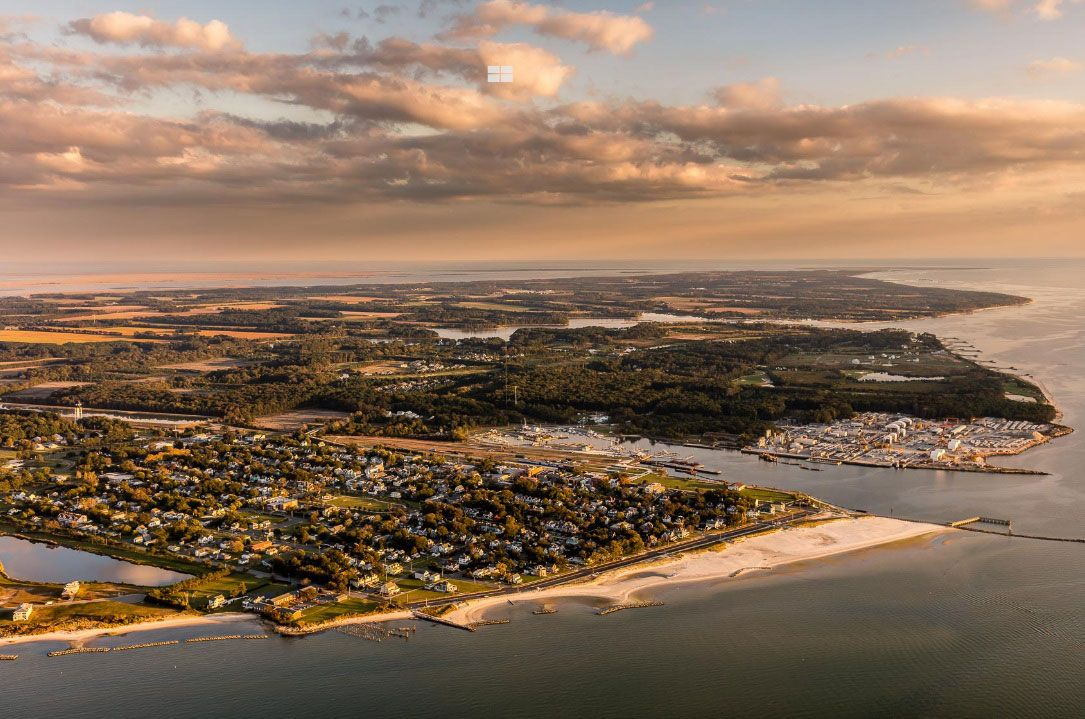 Eastern Shore of Virginia where some of the Scott Drayco