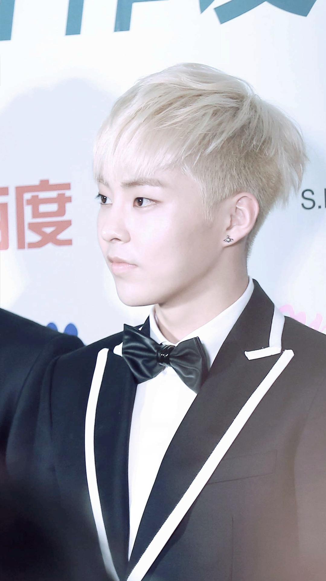 Blonde Xiumin