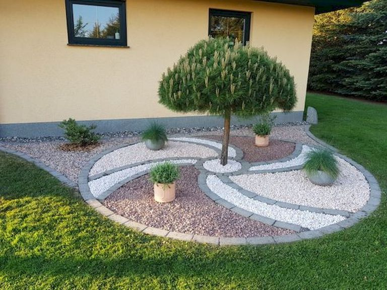 70 Magical Side Yard And Backyard Gravel Garden Design Ideas 9 Small Backyard Landscaping Front Yard Landscaping Design Garden Design