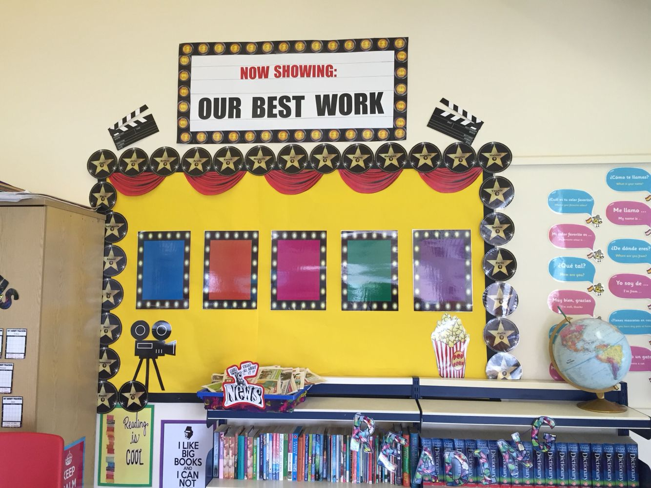 Our best work\' classroom display | My classroom | Pinterest ...