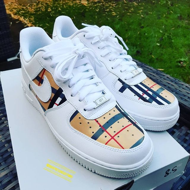 Burberry x Air Force in 2020