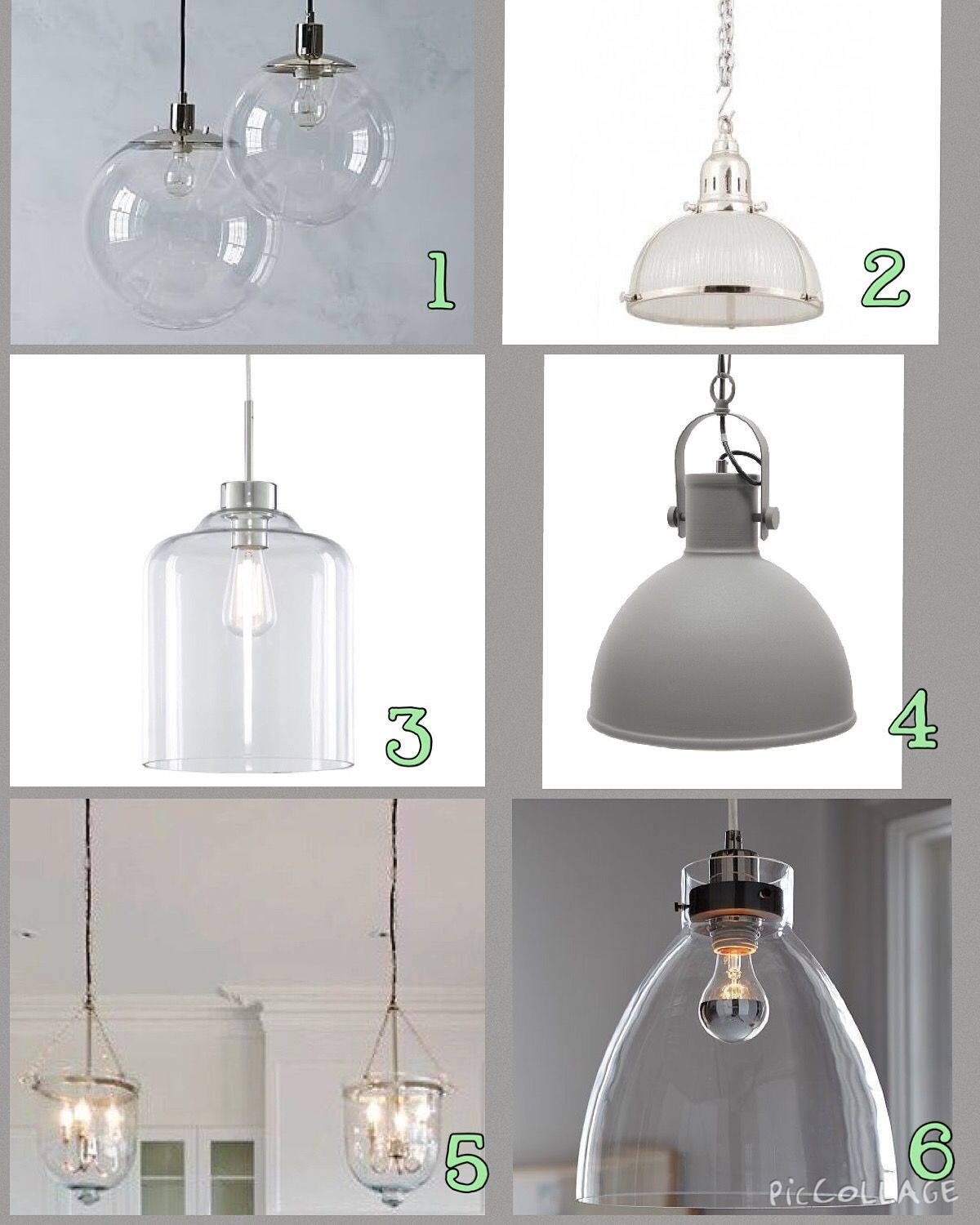 Hamptons Style Kitchen Lights