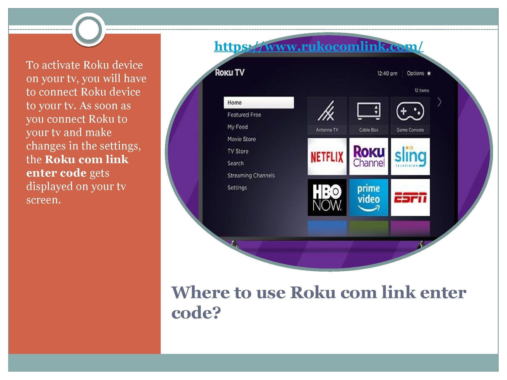 Roku Com Link Roku Com Link Activate Wireless