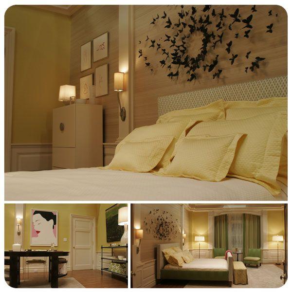 gossip girl home decorserenas roompaul villinski butterflies - Blair Waldorf Schlafzimmer Dekor