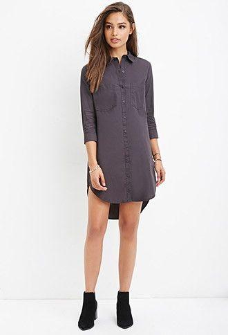 b5b3a8c049b Utility-Inspired Shirt Dress