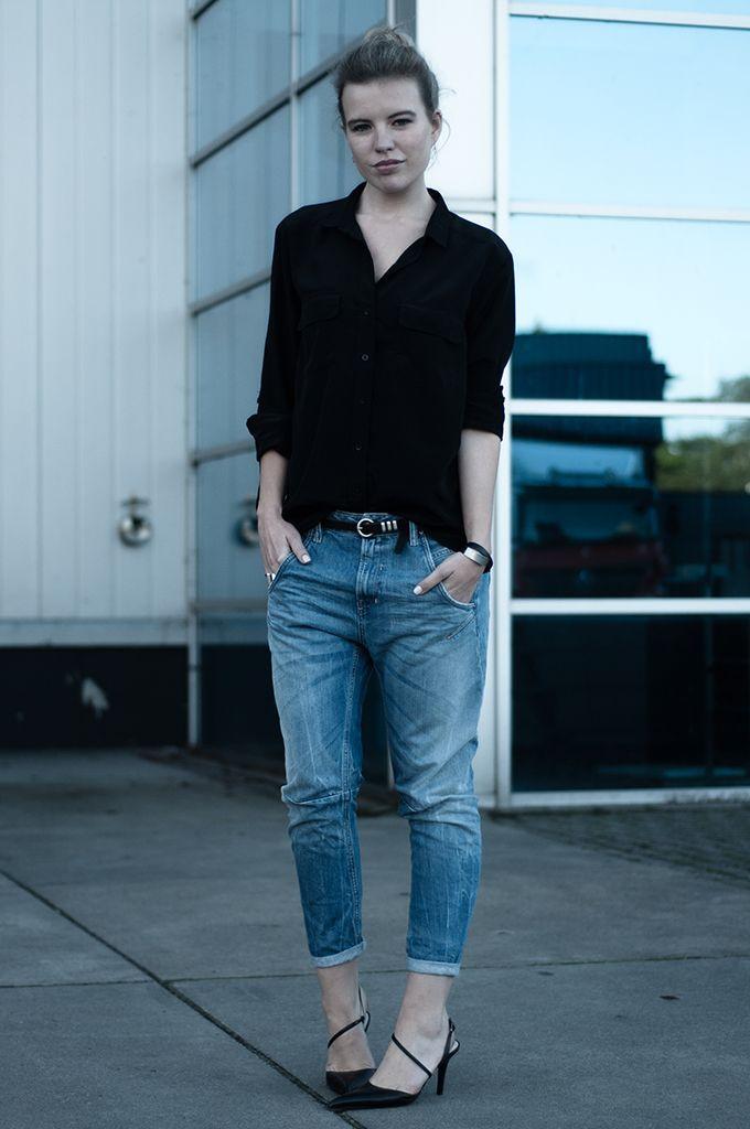 RED REIDING HOOD: Baggy boyfriend Diesel fayza jeans black ...