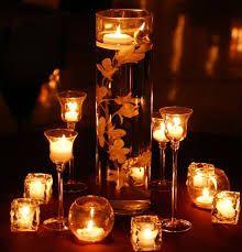 Resultado de imagem para velas para decoração de festas