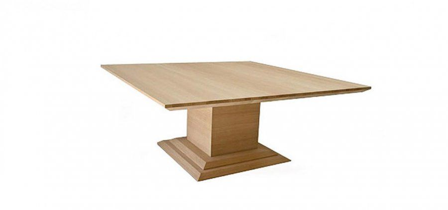 Great Regent Square Extending Pedestal Dining Table Regarding Extension Resize