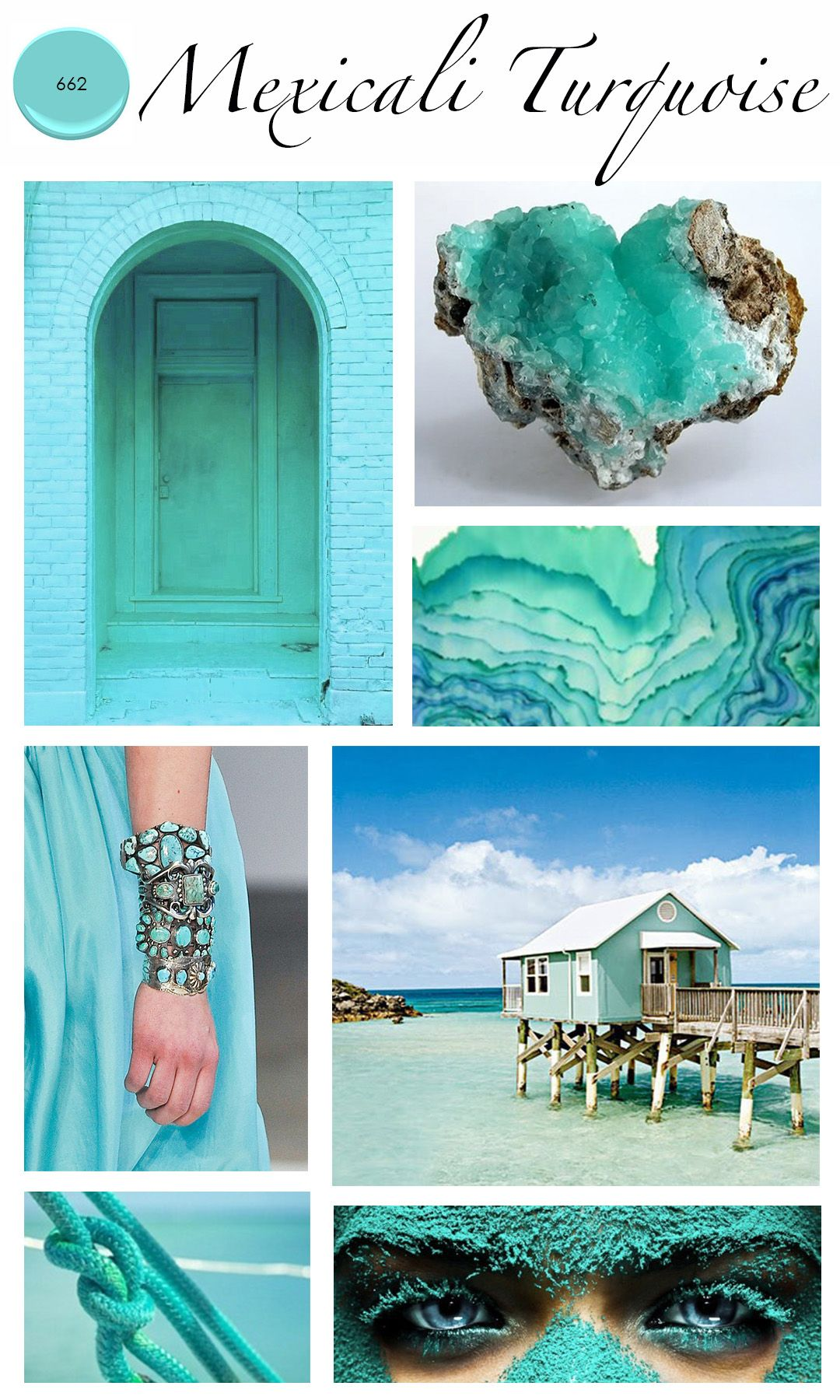 Colour Of The Month : Mexicali Turquoise