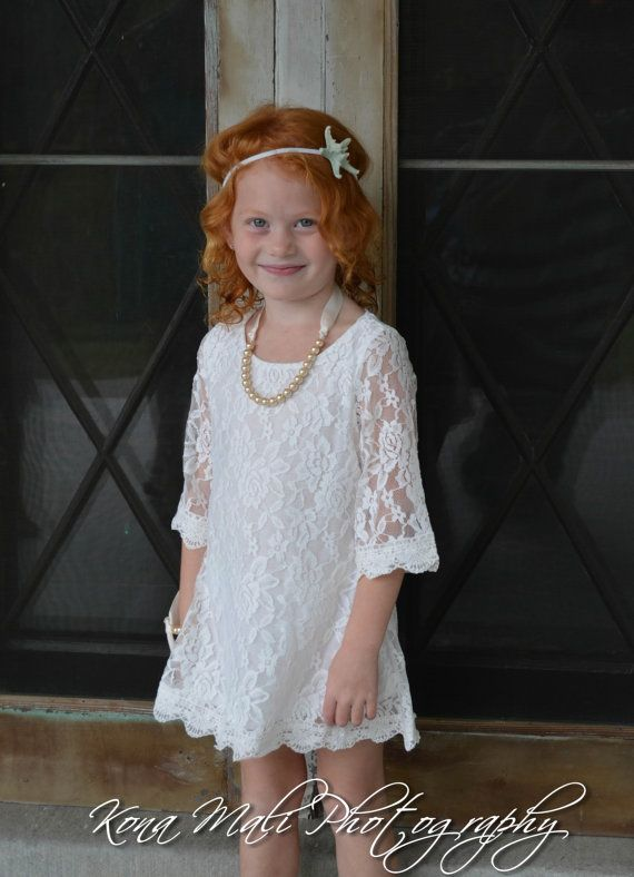 752872444 Holiday Special Set -The Autumn Vintage Lace Flower Girl Dress and Pearl  Bracelet for toddlers & girls sizes 1T,2T,3T,4T,5T,6,7/8,9/10,11/12