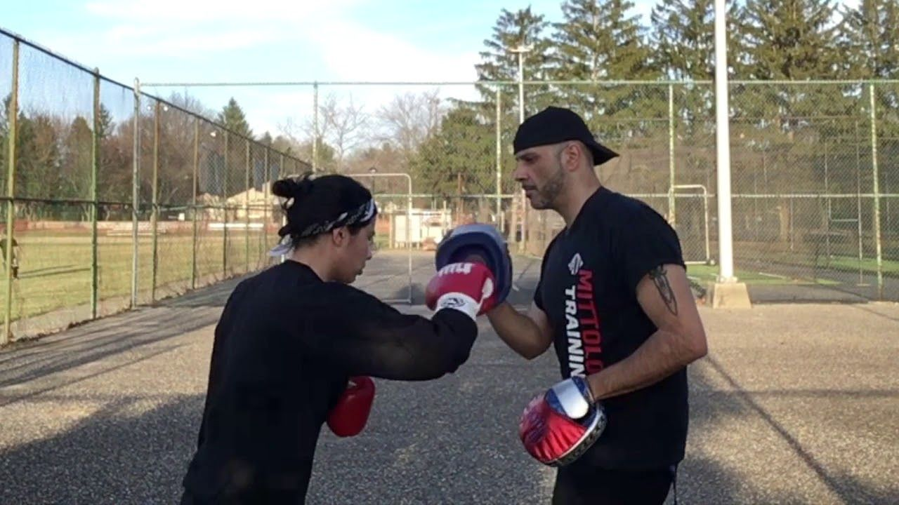 Boxing Tutorial How To Do Basic Situational Mittwork Coach Rick S Mi Viral Videos Train Learning