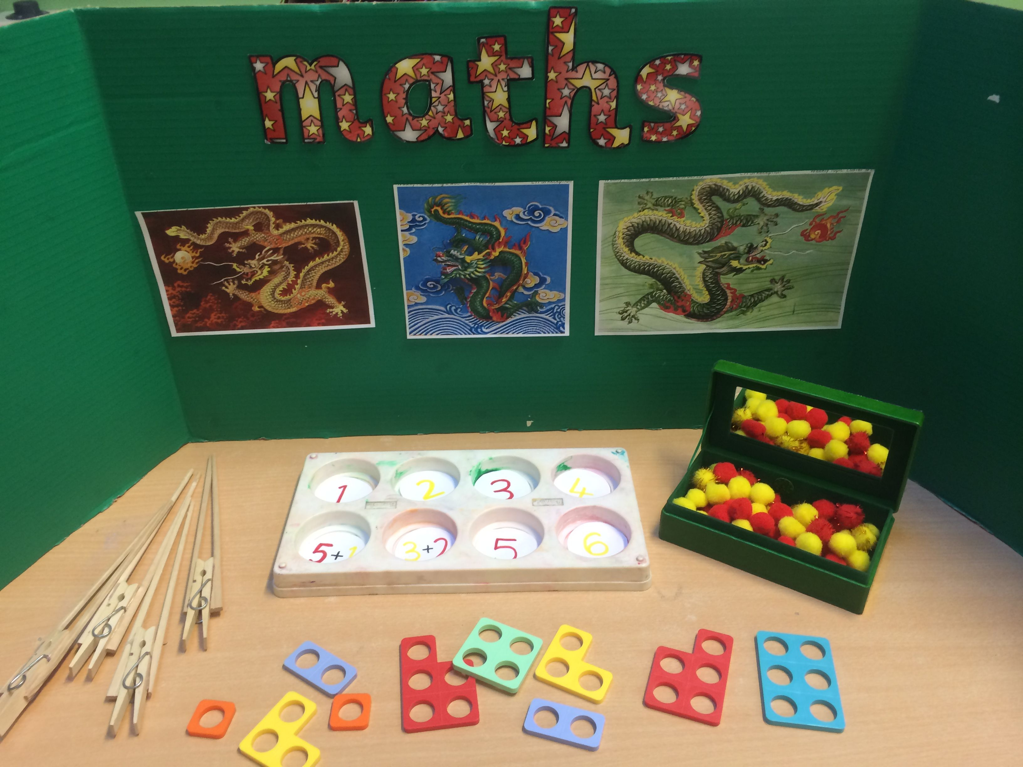 Chinese New Year Maths Table