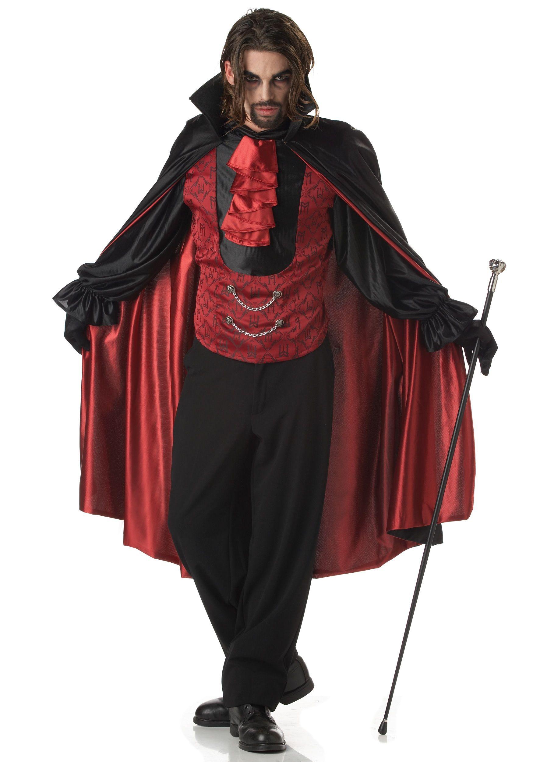 Classic Adult Vampire Costume | Vampire costumes, Wizard costume ...