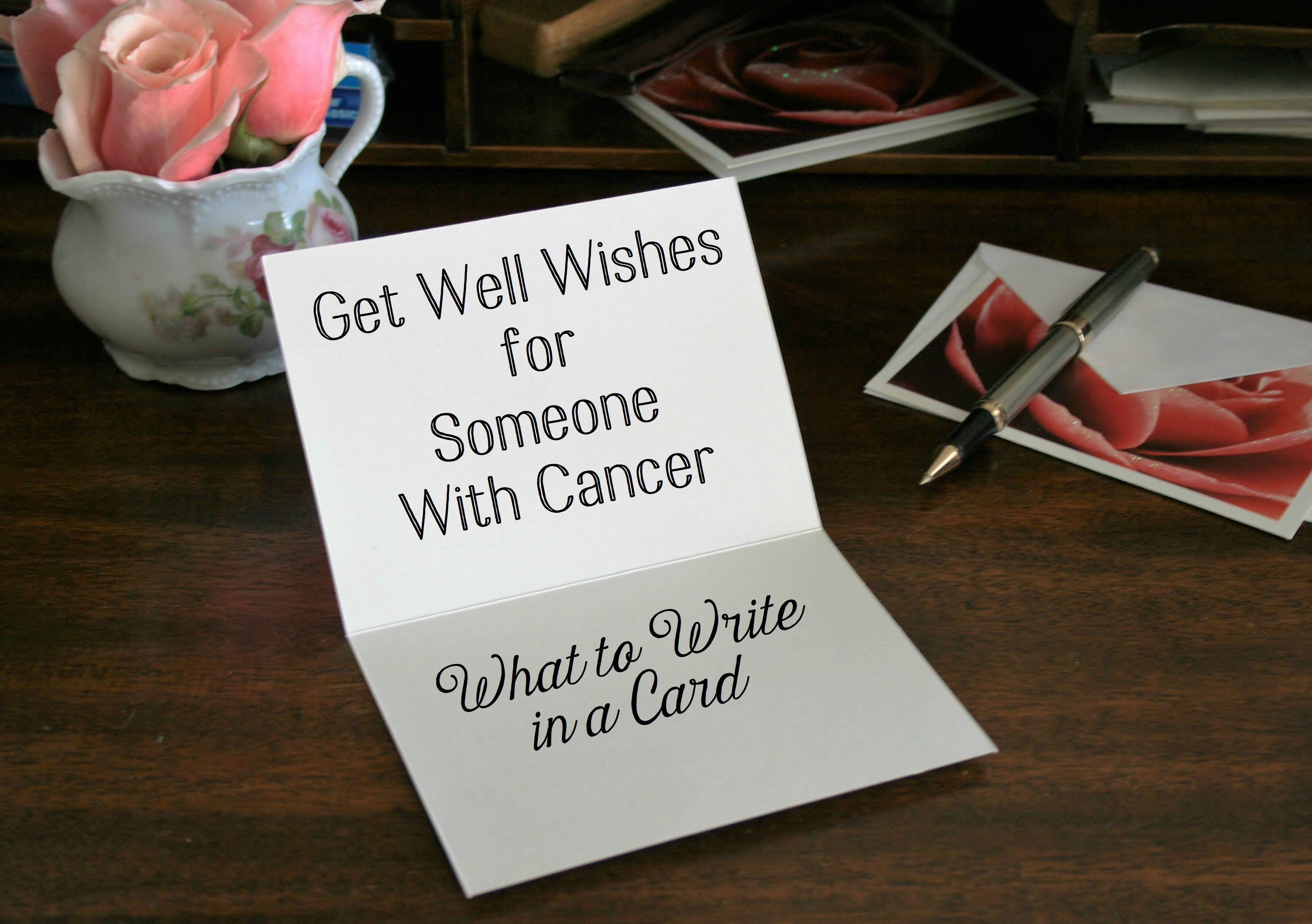 Medium Crop Of What To Write In A Get Well Card