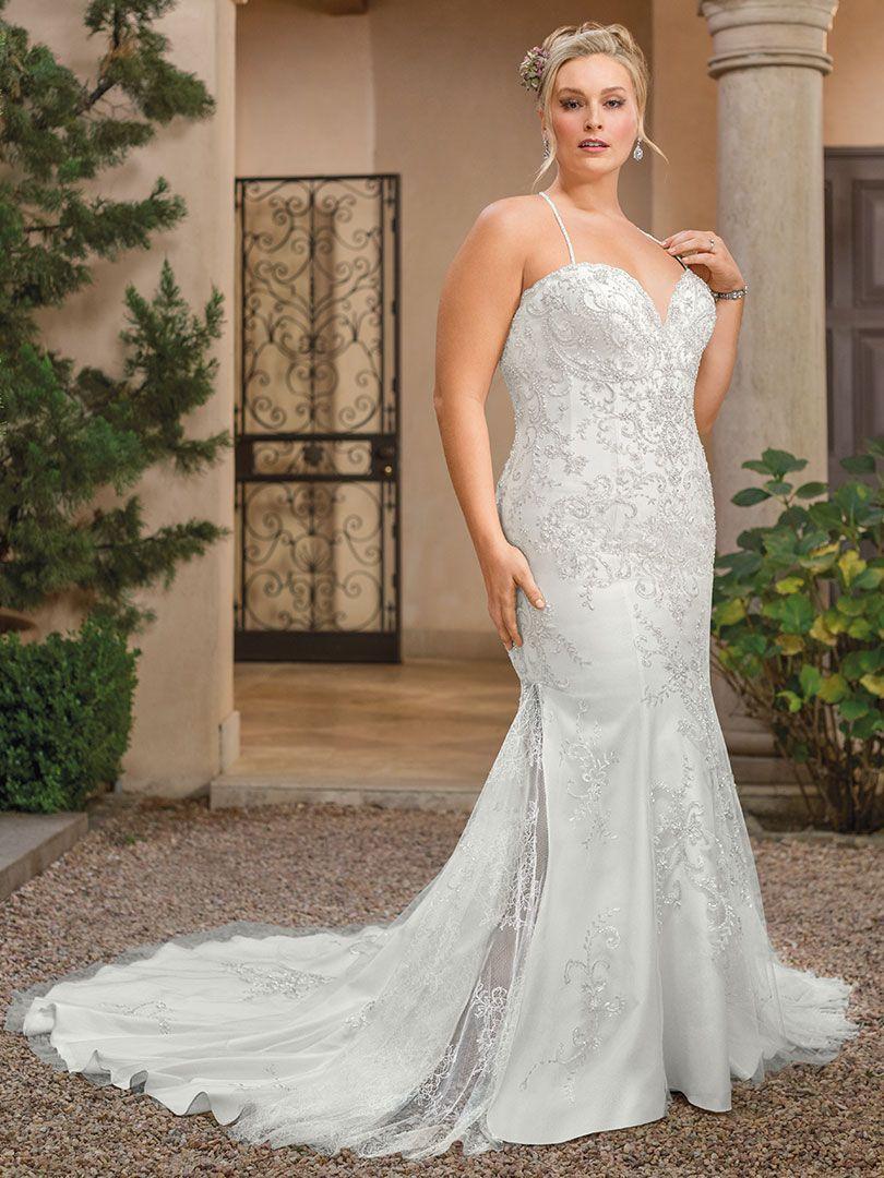 Style 2336 Soraya Ivory Silver Wedding Gowns Vintage Casablanca Bridal Gowns Wedding Dresses Satin