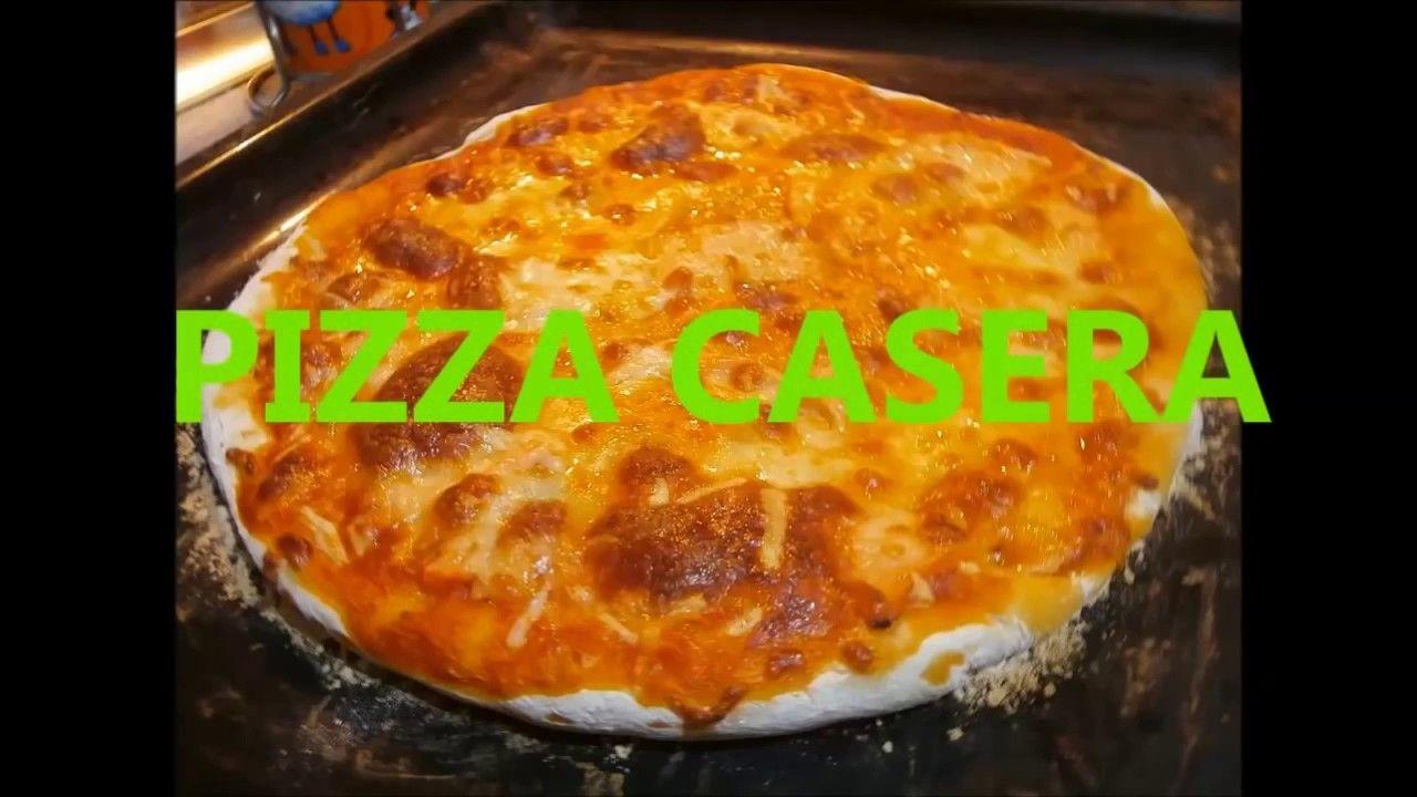 Receta fácil para hoy: PIZZA CASERA ITALIANA | Lugares para visitar ...