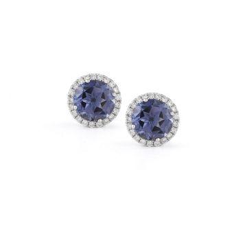 Anna Beth Iolite Earrings