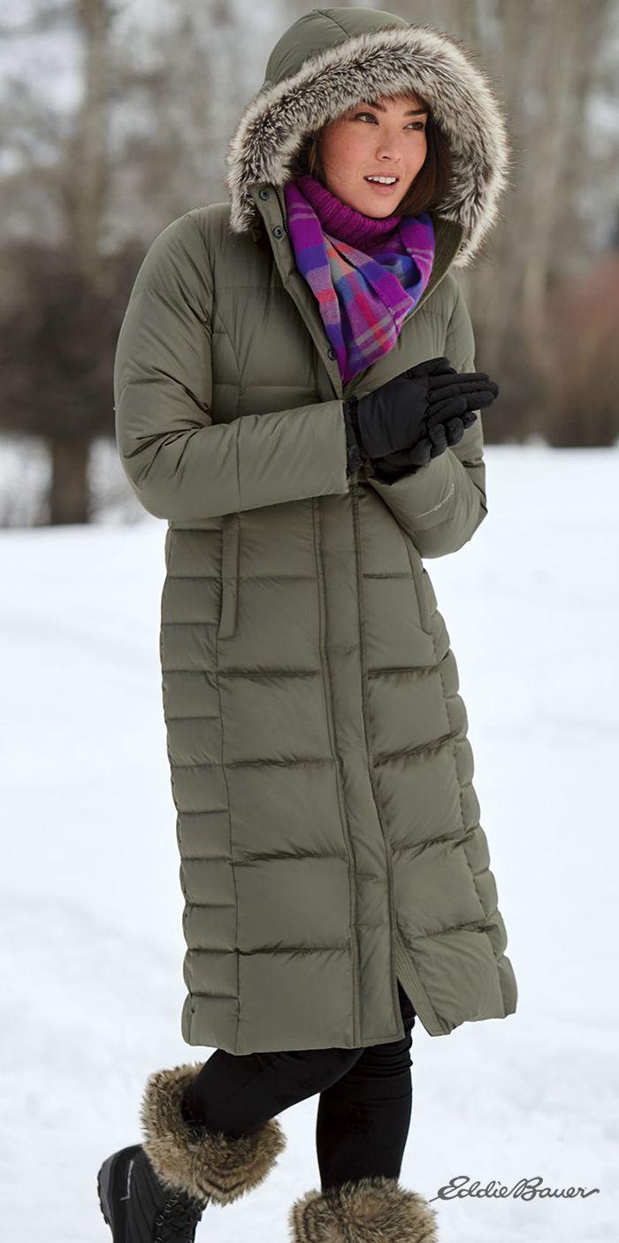 Women's Lodge Down Duffle Coat | Ultralight, ultrawarm 650
