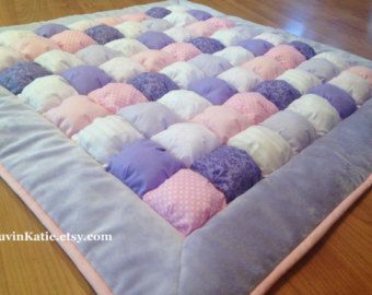 Bubble Quilt Puff Quilt for Baby Floor Time Tummy Time Mat ... : baby floor quilt - Adamdwight.com