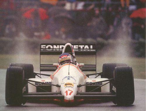 Nicola Larini, Montreal 1988, Osella FA1M