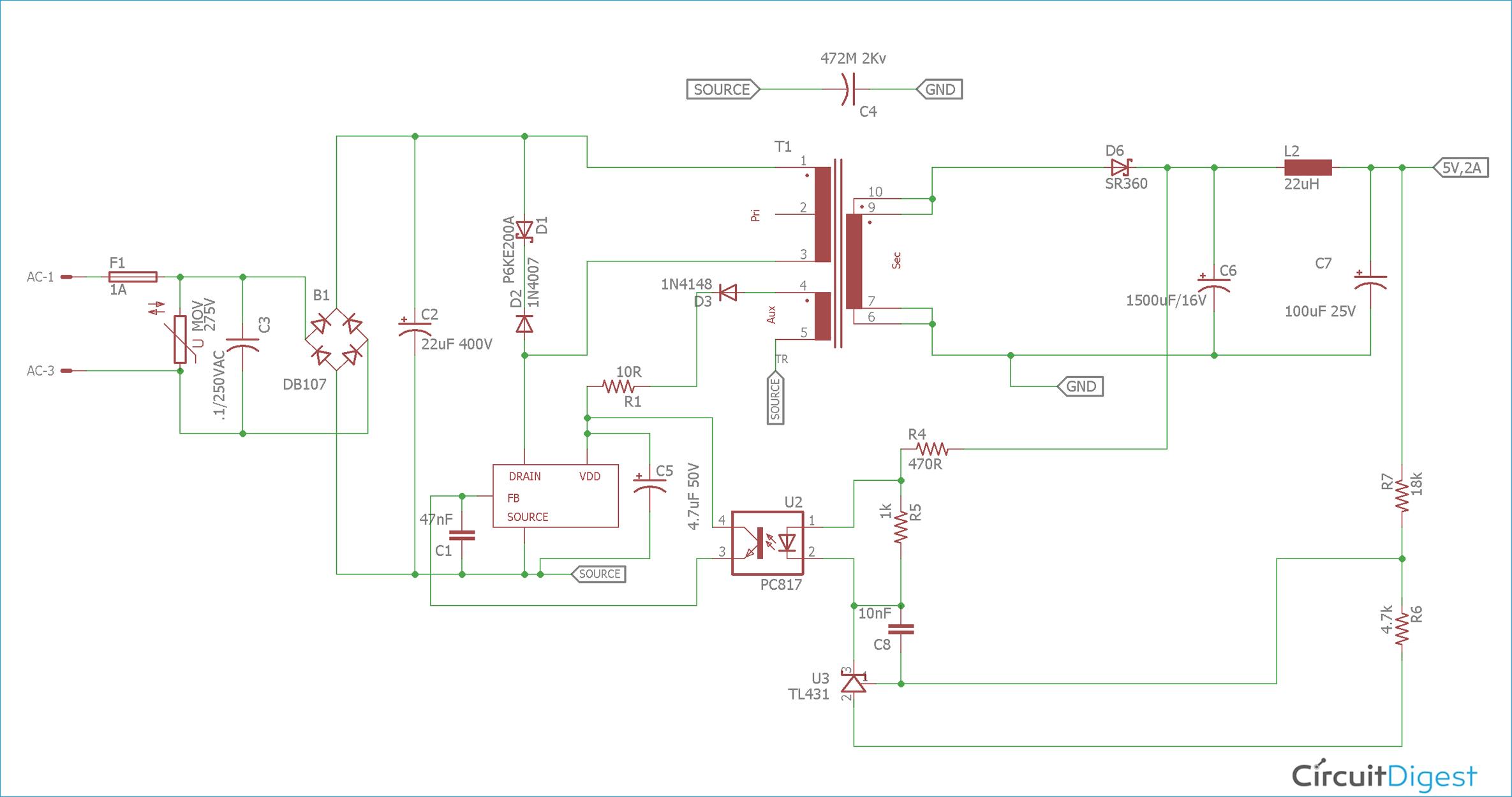 1hz Alternator Wiring Diagram