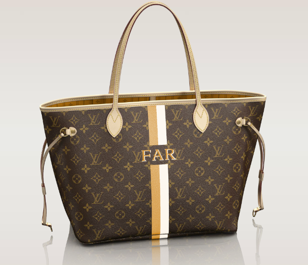 Neverfull Mm Mon Monogram Louis Vuitton Bags Louis Vuitton Bag Neverfull