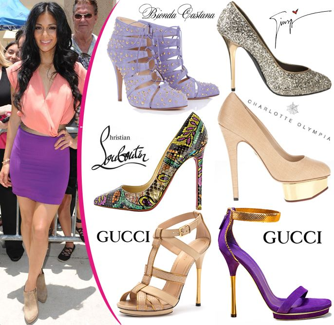 shoes to wear with light purple dress