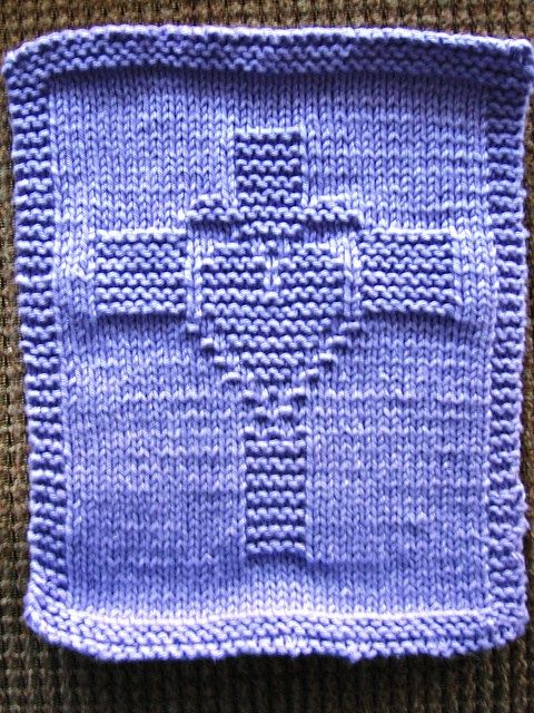 Dishcloth and Washcloth Knitting Patterns | Patrones de puntos ...