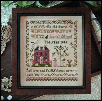 Sarah Street Faithfulness - Cross Stitch Pattern