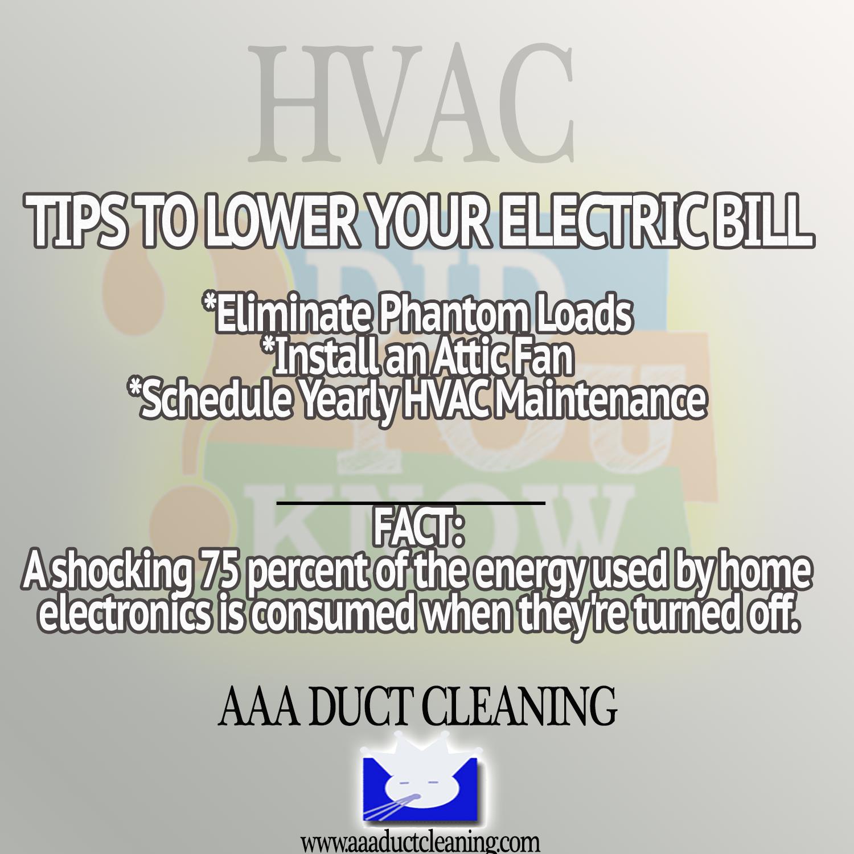 Tips On Lowering Your Homes Energy Bill Ac Repair Hvac