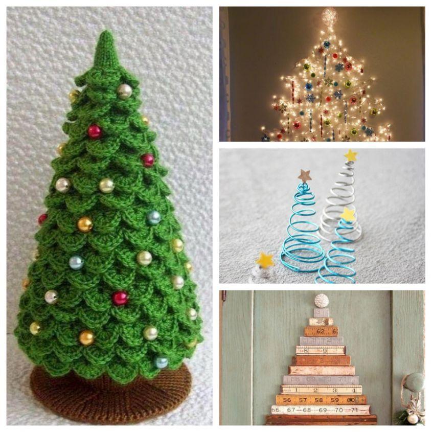 Come Creare Un Albero Di Natale Fai Da Te Con Lu0027uncinetto O Altre Idee