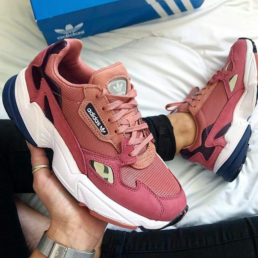 Adidas falcon | Pink adidas, Sneakers, Pink shoes