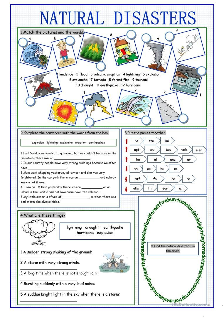 Natural Disasters Vocabulary Exercises Worksheet Free Esl Printable Worksheets Ma Vocabulary Exercises Natural Disasters Lessons Natural Disasters Activities [ 1079 x 763 Pixel ]