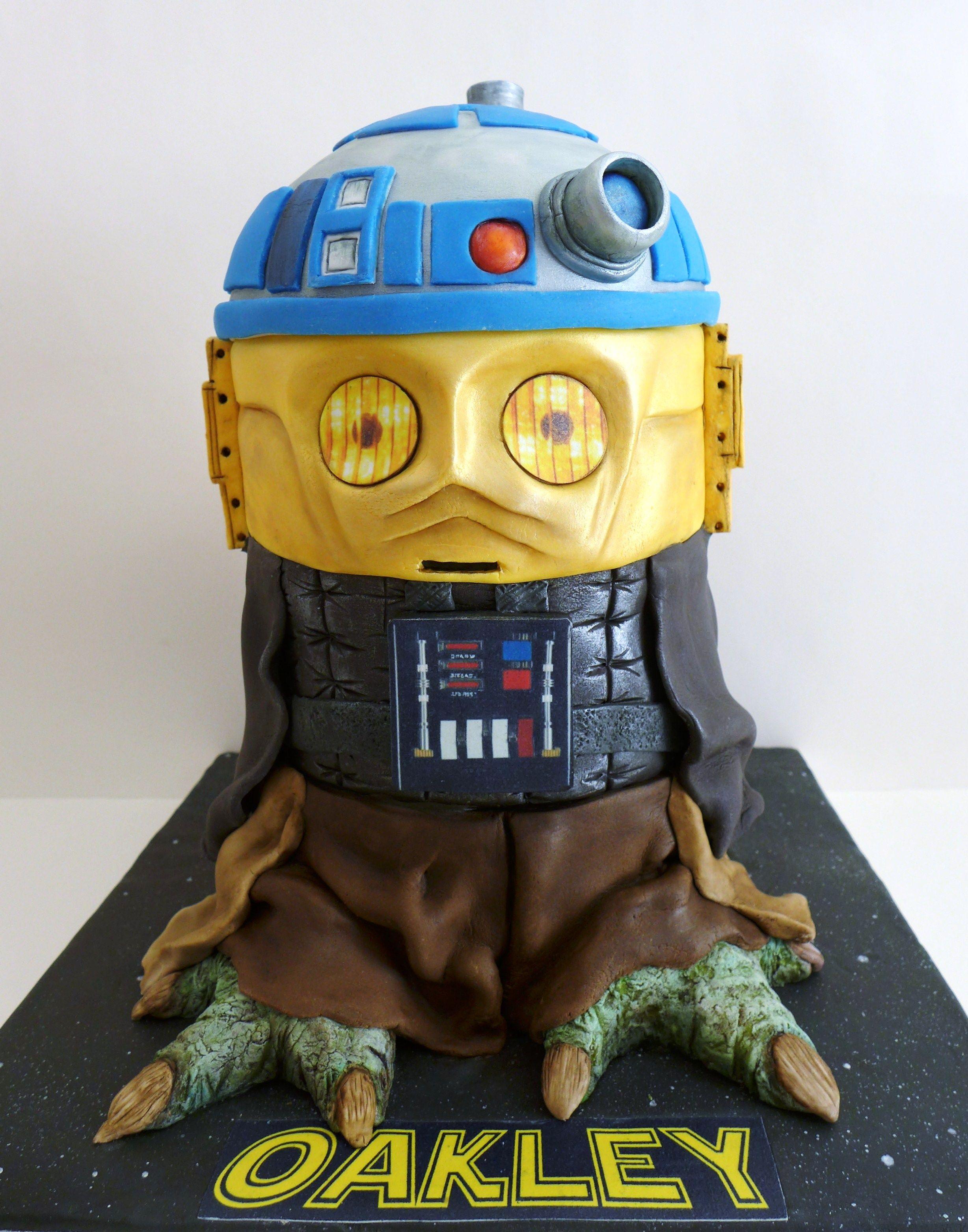 Children Cemlyn Cakes Star Wars 4 Tier Mash Up Birthday