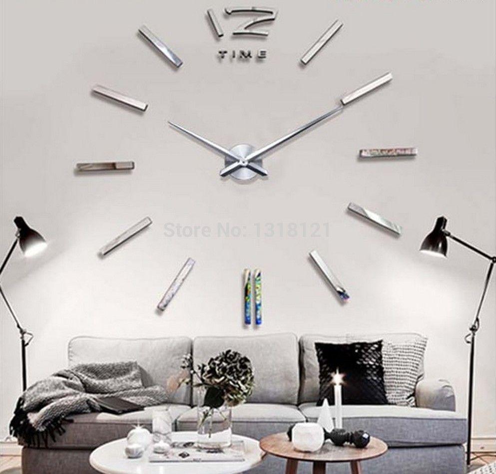 2014 new home decor wall clock European oversized living room modern ...
