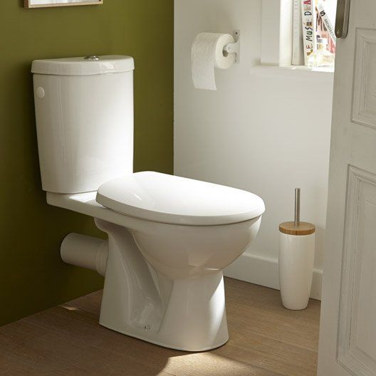 Wc poser wc abattant et lave mains leroy merlin - Meuble lave main wc leroy merlin ...