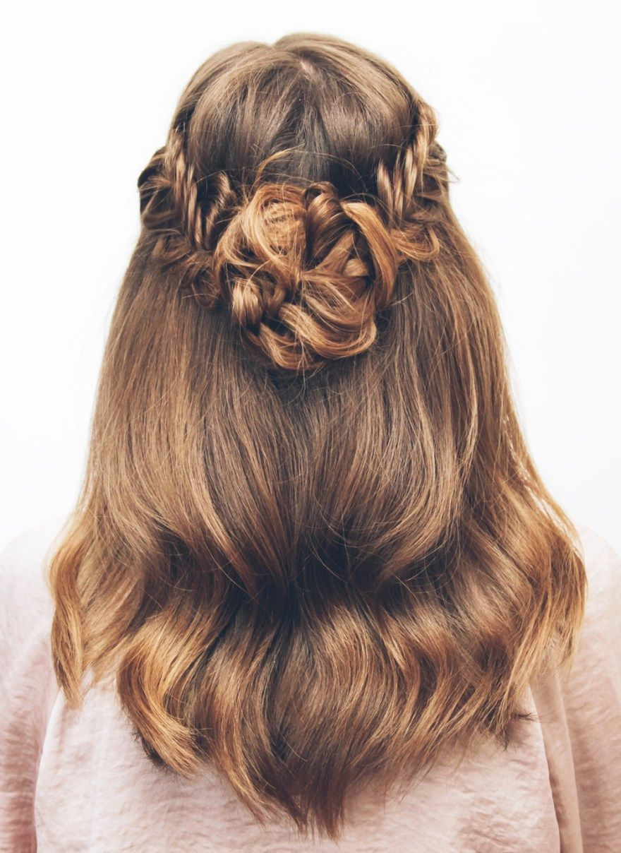 how to make your braid look thicker
