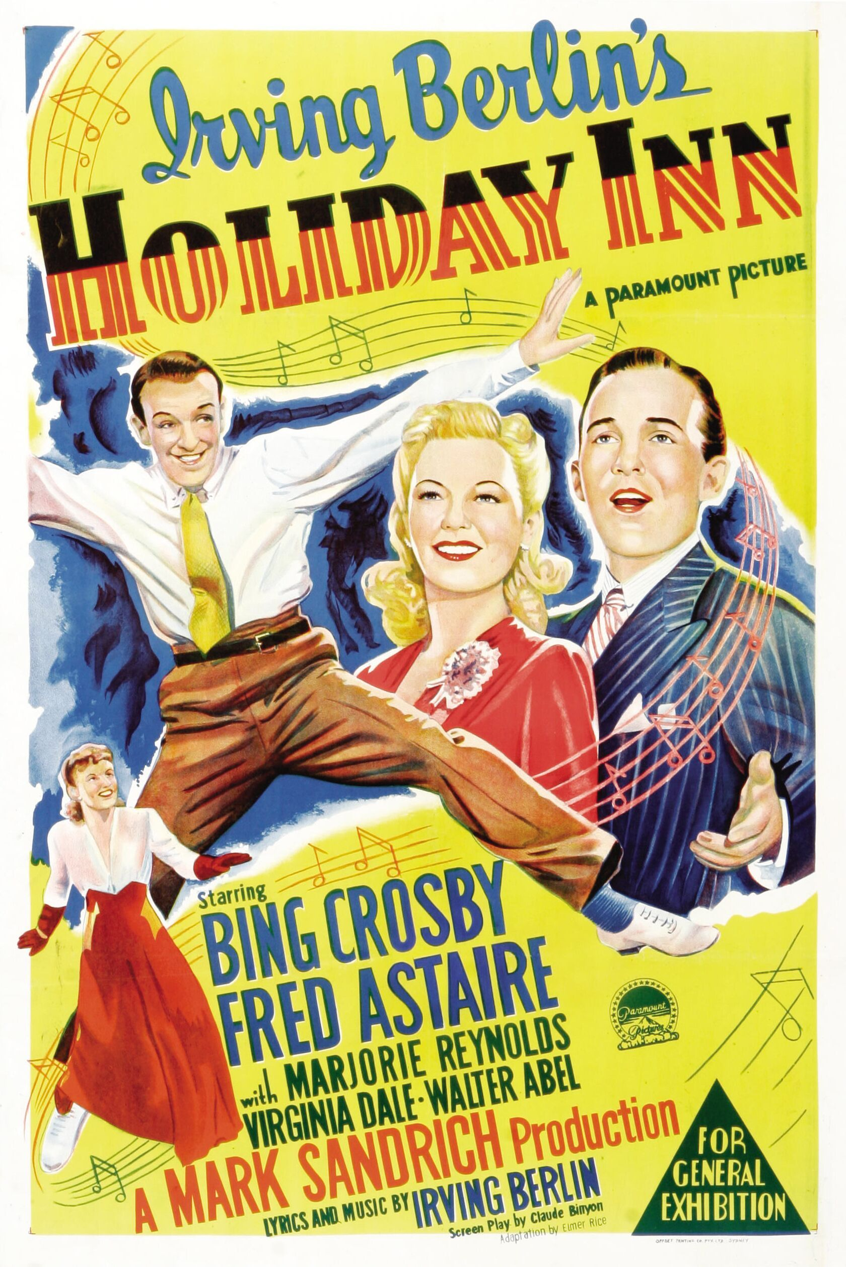 Holiday Inn (1942) Classic christmas movies, Holiday inn