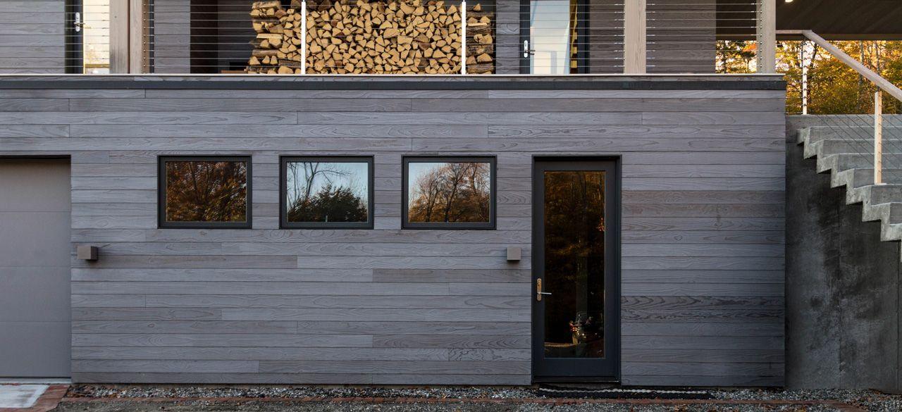 Weston House Nigiri Shou Sugi Ban Exterior Siding Weston