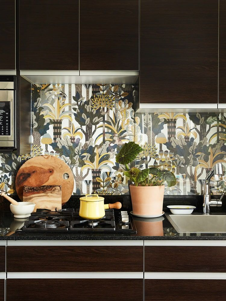 Renters Peep This Find In Drew Barrymore S Fall Walmart Home Collection Diy Backsplash Diy Wallpaper Home Decor