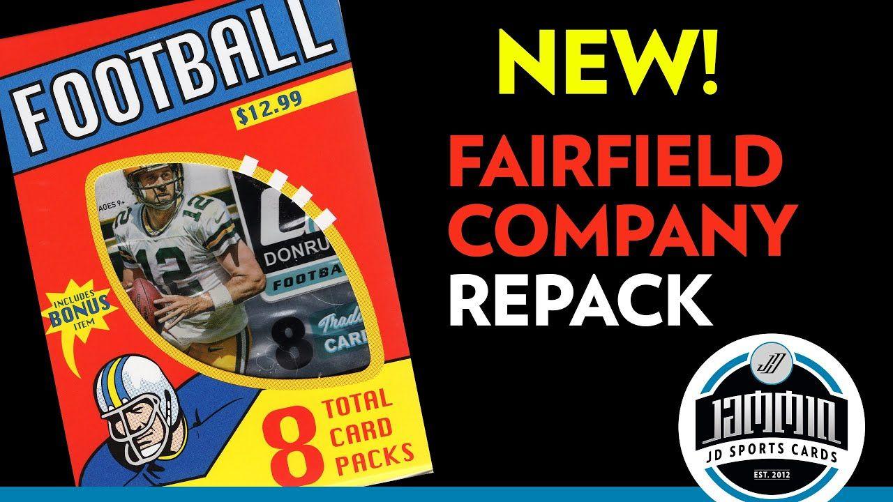 Fairfield Company Football Repack NEW PRODUCT! 8 Packs