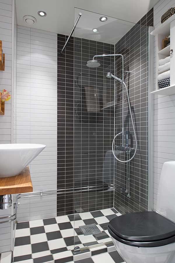Bathroom designs for small spaces small space solutions for Small space bathroom